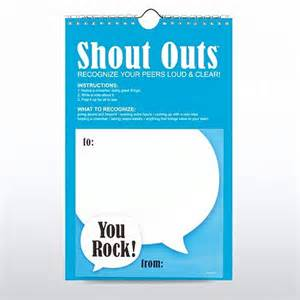 Peer Shout Out Recognition