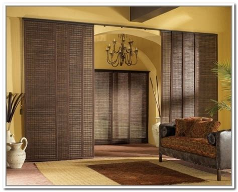 Sliding Curtain Panel Room Divider