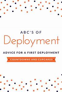 Deployment ABCs... First Deployment Quotes