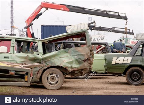 Boat Engine Scrap Yards by Hiab Stock Photos Hiab Stock Images Alamy
