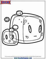 Minecraft Coloring Pages Cube Gelatinous Slime Drawing Cubes Slimes Cartoon Cool Sheets Enderman Block Lima Doodles Doodle Hmcoloringpages Discover Pig sketch template