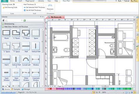 floor plan software  home design plans