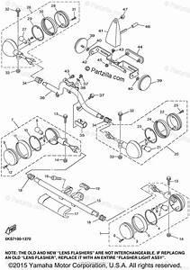 Yamaha Motorcycle 2001 Oem Parts Diagram For Flasher Light