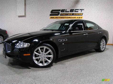 black maserati 2008 black maserati quattroporte 24387565 photo 12