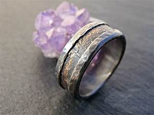 unique wedding band industrial ring for men medieval wedding With unusual wedding bands rings