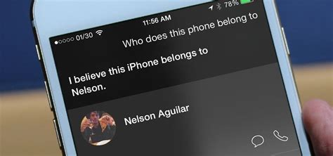 lost iphone how to return a lost iphone to its owner using siri sig