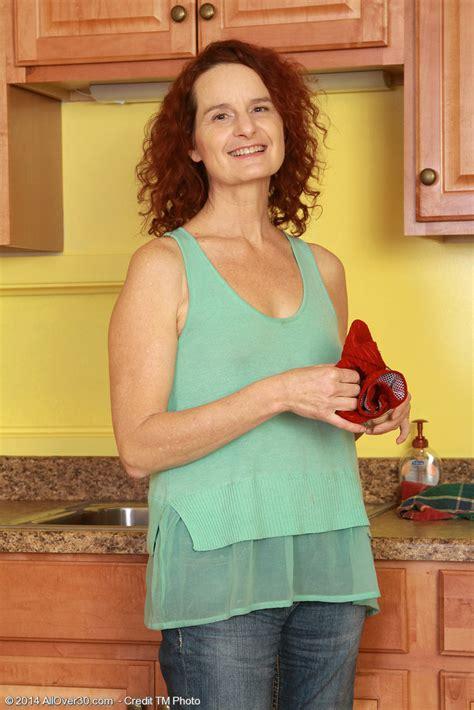 Redheaded Year Old Wife Gloria M Getting Nude Inside