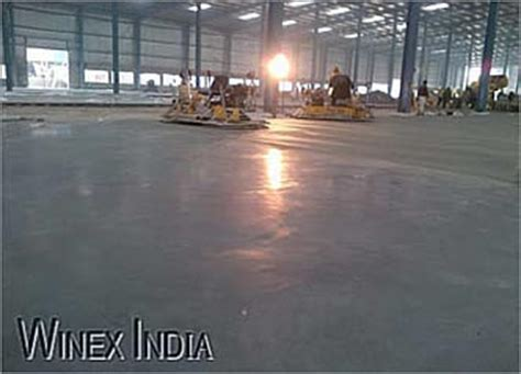 Flooring   Concrete, VDF, Tremix / Trimix