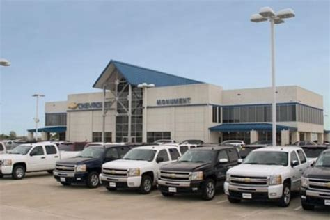 Monument Chevrolet Car Dealership In Pasadena, Tx 77503