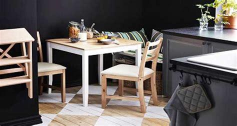 carrelage mural cuisine ikea petites tables de cuisine en 14 modèles déco gain de place