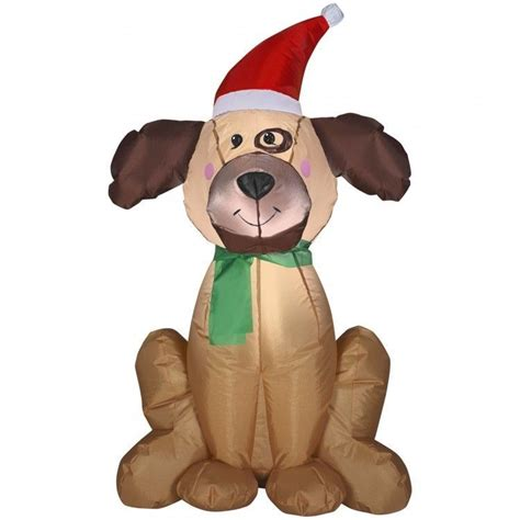 inflatable christmas dog decorations wwwindiepediaorg