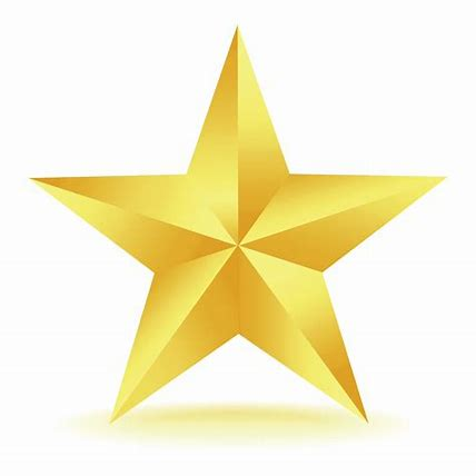 Image result for gold star clipart