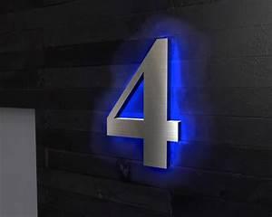 Hausnummer Led Hinterleuchtet : hausnummer beleuchtet led t rklingeln von nano tec design mit led hinterleuchtete hausnummer ~ Sanjose-hotels-ca.com Haus und Dekorationen