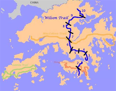 major trails wilson trail stage  rozs hiking pages hong kong hiking group regular