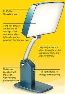bright light therapy l carex daylight sky dl2000 light therapy light box