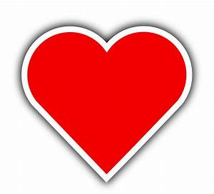 Clipart - Simple Red Heart