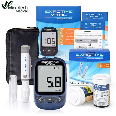 microtech medical diabetic blood sugar detection blood