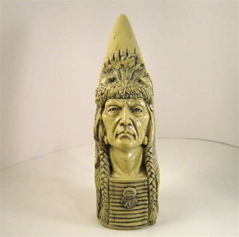native american plains carved horn  avery creations
