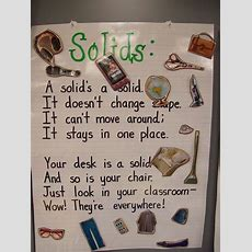 States Of Matter  Solids  Preschool Poems Pinterest