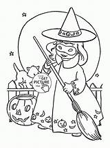 Witch Coloring Halloween Printables Witches Wuppsy Printable Sheets Kid Hazel Craft Tags Whitesbelfast sketch template