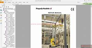 Pinguely Haulotte Repair Manual Star 10
