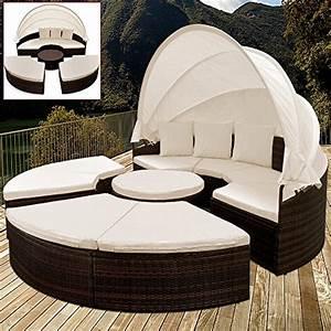 Rattan Lounge Mit Dach : rattan sonneninsel die kuschelmuschel ~ Bigdaddyawards.com Haus und Dekorationen