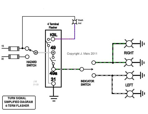 flasher relay wiring diagram flasher free engine image