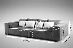 Big Sofa Eckcouch : modernes schlafsofa sofa couch big sofa in braun schlaffunktion athen polsterm bel sofa ~ Indierocktalk.com Haus und Dekorationen