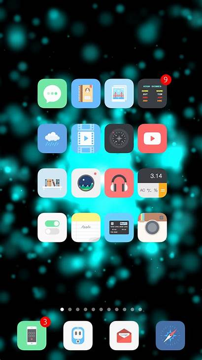 Iphone Wallpapers Dynamic Particle Ipad Ios Bo3