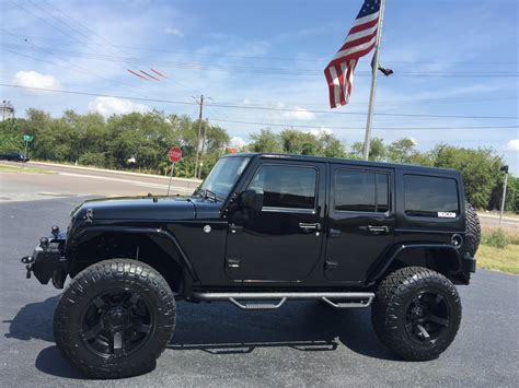 jeep hardtop custom 2016 jeep wrangler unlimited black out custom 24s hardtop