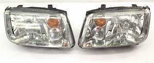 Headlight Head Light Lamp Set 99
