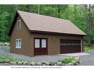Whitney Hill Workshop Garage Plan 002d