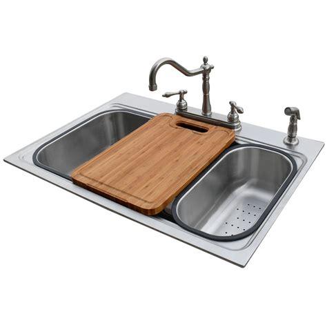 1 basin kitchen sink shop american standard 22 in x 33 in silver single basin