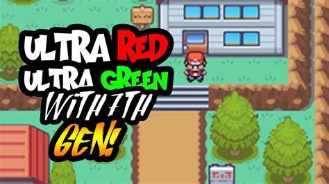 pokemon ultra red ultra green gba rom hack   gen