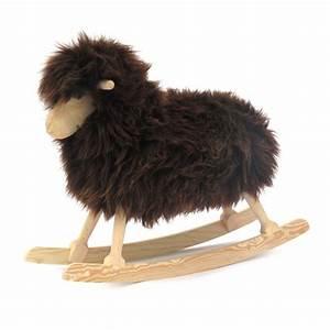 Mouton à Bascule : mouton bascule noir danish crafts jeux jouets loisirs enfant smallable ~ Teatrodelosmanantiales.com Idées de Décoration