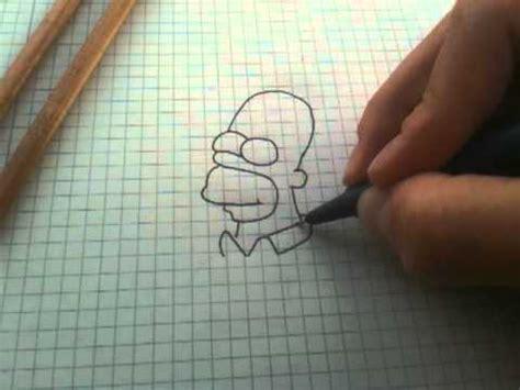 anleitung homer von die simpsons zeichnen homer simpson