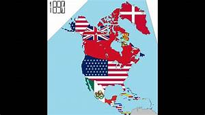 North America  240 Years In Four Minutes  Timeline Of