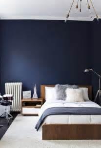 schlafzimmer dunkelblau navy blue bedroom design ideas pictures
