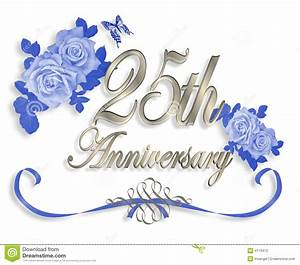 25 wedding anniversary clipart With 25 year wedding anniversary