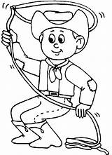 Coloring Boys Sheets Cowboy Games Boy Colouring Printable Western Preschool Activities Gun Cartoon Cowboys 2nd Theme Wild Crafts Lasso West sketch template