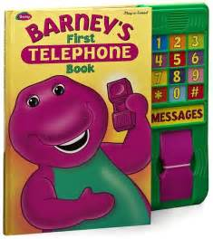 Barney First Telephone Book