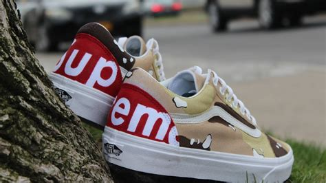 Vans Supreme by Custom Supreme Vans Did You Win The Give Away