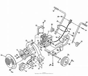 Snapper Slb514  80517  5 Hp Leaf Blower Parts Diagram For Leaf Blower Assembly