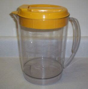 Coffee iced tea replacement pitcher is compatible with tm1 models that have a 2 quart capacity. Mr Coffee Replacement 3 Quart Pitcher for Iced Tea Pot Maker TM3 - Yellow Top   eBay