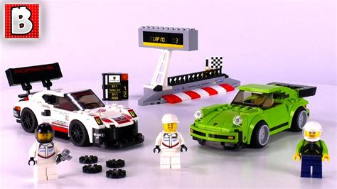 lego speed chions porsche lego 75888 porsche 911 rsr and 911 turbo 3 0 speed chions 2018 set review