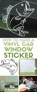 How to Make a Vinyl Car Window Decal Sticker with Cricut