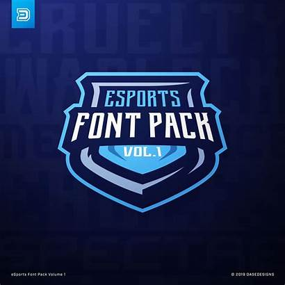 Esports Font Dasedesigns Pack Vol Brush