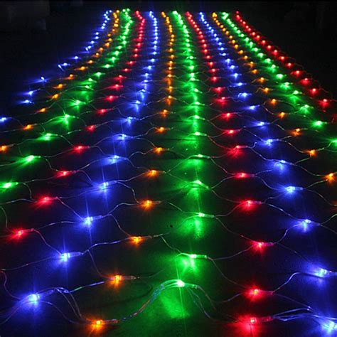 1 5mx1 5m 96 led net mesh fairy string light christmas