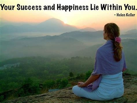 success  happiness lie   quote picture