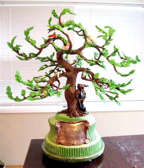 tree cake tree of life 40th birthday artisan cake company